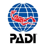 Sunset Diving Logo PADI