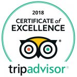 Sunset Diving TripAdvisor Excellence Certificate 2018